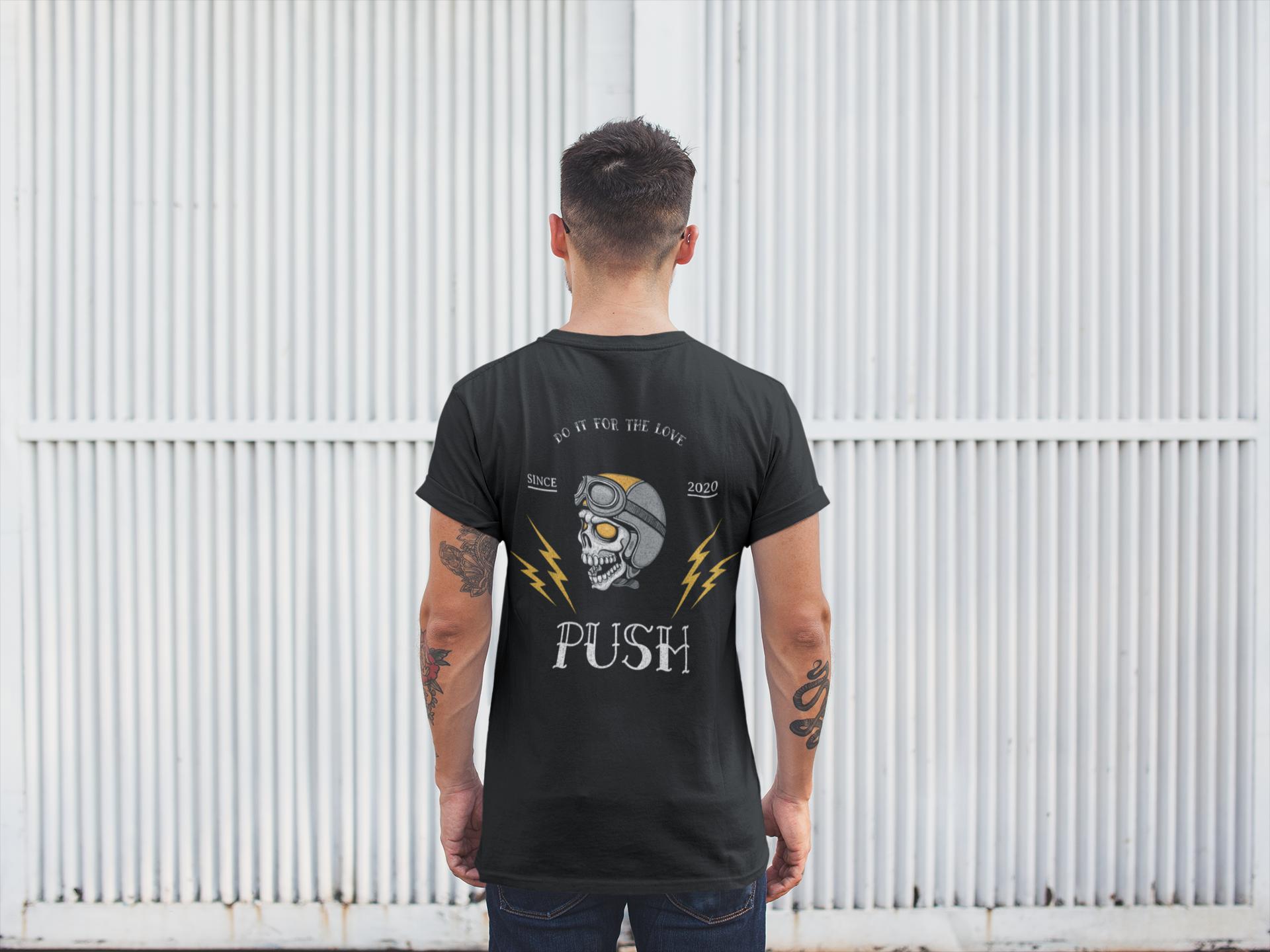 Bolts and Skulls premium soft t-shirt